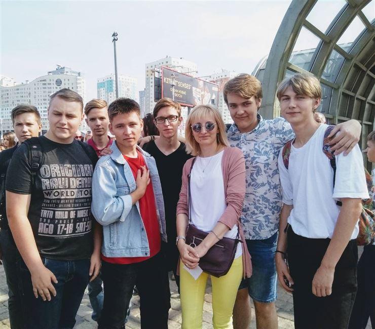 Открытие памятного знака «Белорусам – героям космоса»
