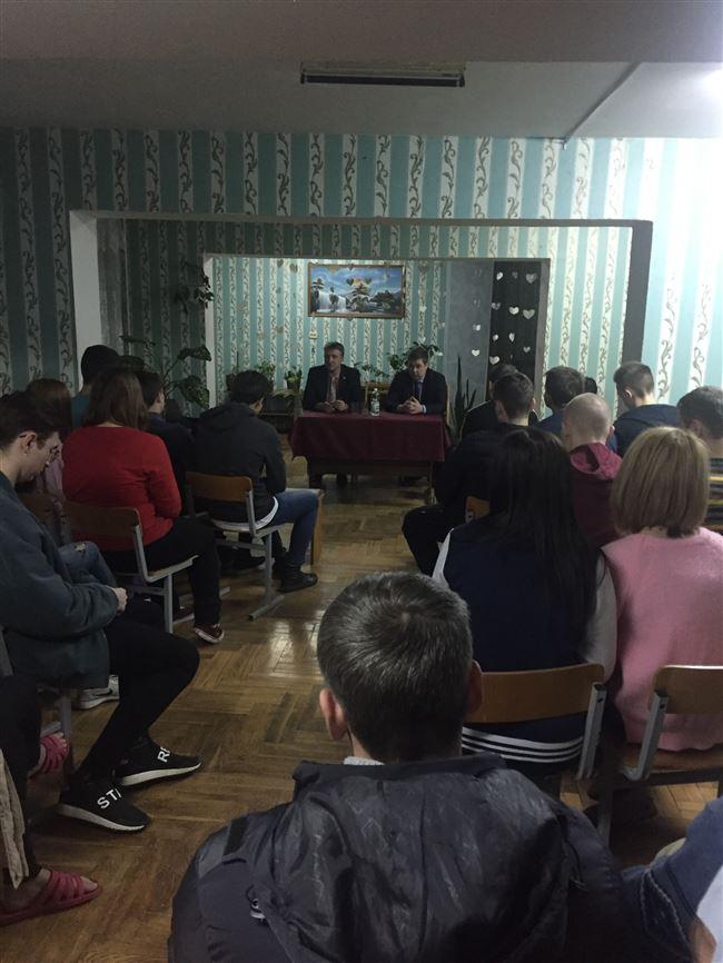 Встреча с заместителем главы Московского района города Минска.